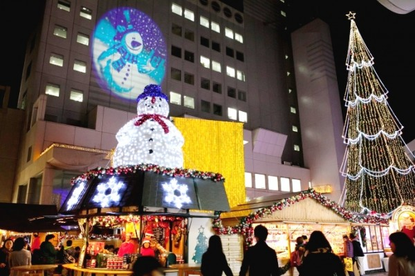 大阪のクリスマスマーケット
