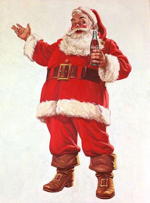 現代版サンタクロースの由来と起源