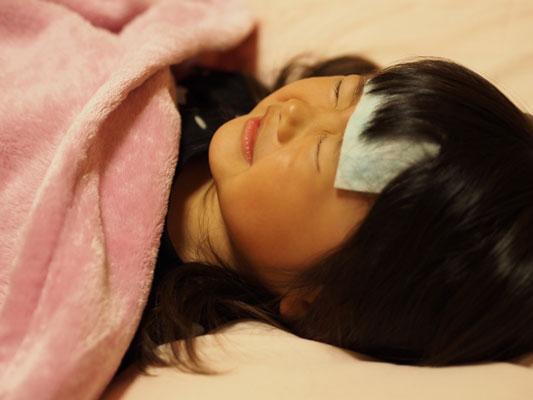 子供と大人のインフルエンザの症状の違い