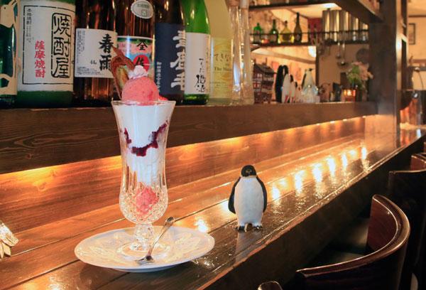 札幌シメパフェのバーラーペンギン堂