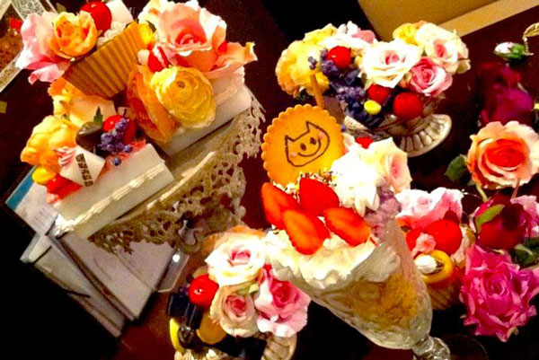 札幌シメパフェのメルティ